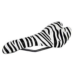 ZycleFix Urban Wild Bike Saddle (Zebra)