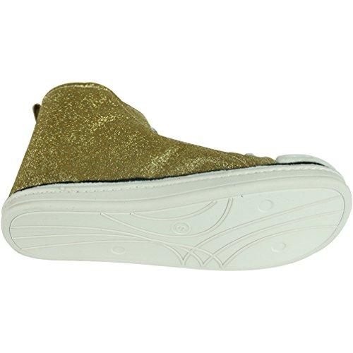Top Gold 3 Freizeitschuhe Herren Schnürer High klassische von für Skateboardschuhe Gohom Sneaker Erwachsene 1q77OdH