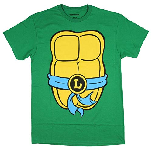 Teenage Mutant Ninja Turtles TMNT Mens Costume T-Shirt (Extra Large, Leonardo) by Nickelodeon]()