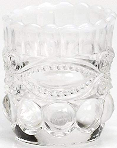 Toothpick Holder - Eyewinker - French Opalescent - Mosser USA