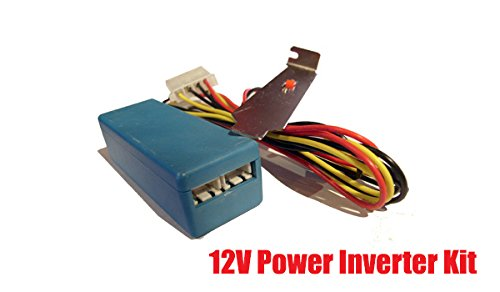 iMBAPrice 12V Dual Cathode Inverter Kit with Power Cable Harness & PCI Switch Slot Ccfl Cold Cathode Light Bulb