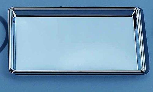 Elegance Silver 82533 Rectangular Nickel Plated Serving Tray, 8