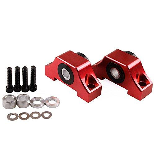 Motor Mount Cover - Engine Billet Motor Torque Mount Fit For Honda Civic EG EK B16 B18 B20 D16 Red Color