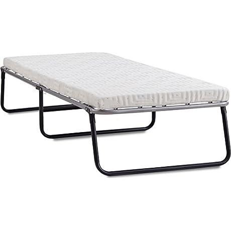 Lane Foldaway Guest Bed Folding Steel Frame With Gel Memory Foam Mattress 3 Twin
