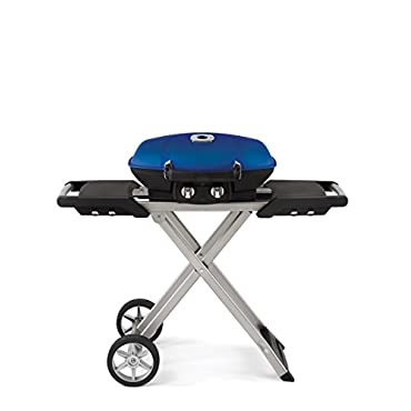 Napoleon TravelQ 285 Portable Propane Grill with Cart, Blue (TQ285X-BL)