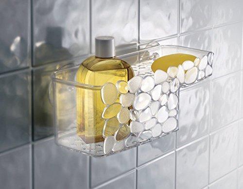 mDesign Pebbles Bathroom Organizer Conditioner