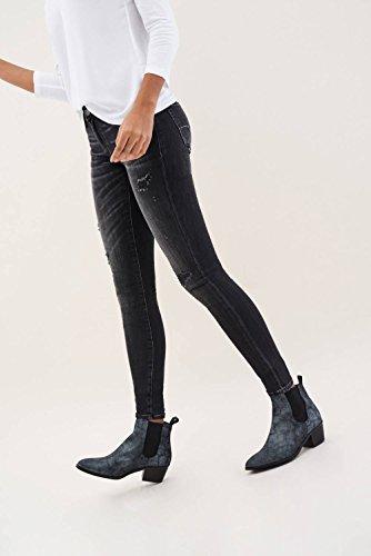 Skinny Premium Nero Pantaloni Salsa Colette Wash EqPAczU