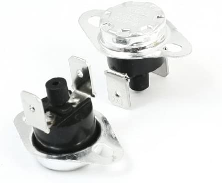UXCE9 Uxcell Manual Reset Thermostat Uxcell a13092400ux0090 2 Piece