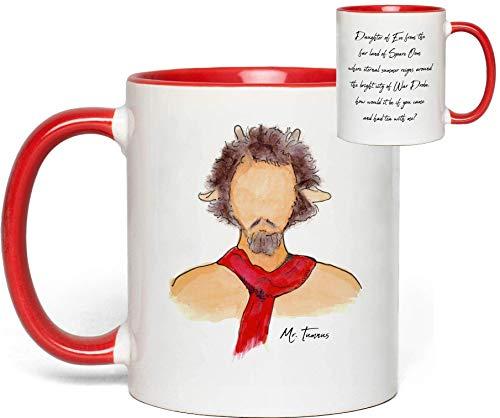 Narnia Mug (Mr. Tumnus - The Lion, The Witch & The Wardrobe) Quote Fan Gift (Eternal Fine Dinnerware)