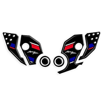 PROTECCI/ÓN Adhesiva RESINADA BATALLAJE /ÁFRICA Twin ADB-001 Tricolor