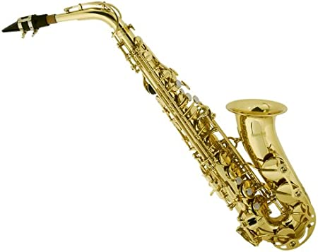 side facing mendini by cecilio alto saxophone