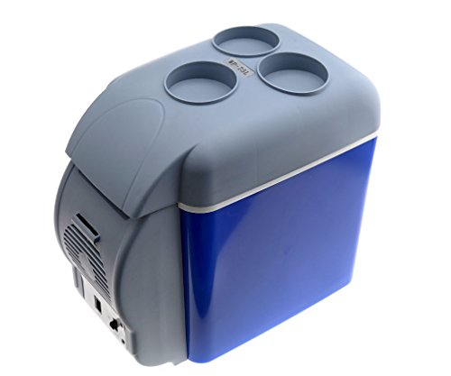 12V Blue Car Small Refrigerator Mini Fridge Cooler Warmer-7.5 L