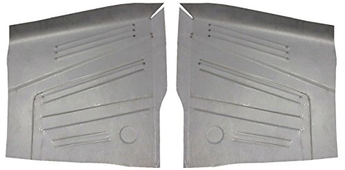 Motor City Sheet Metal - Works With 1966 1967 1968 1969 1970 BUICK RIVIERA FRONT FLOOR PANS NEW PAIR! ()