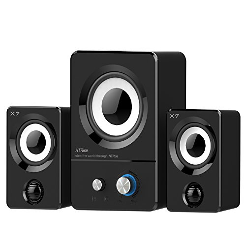 htrise-usb-wired-3-in-1-stereo-satellite-speakers-with-subwoofer-of-home-theater-speaker-x7-black
