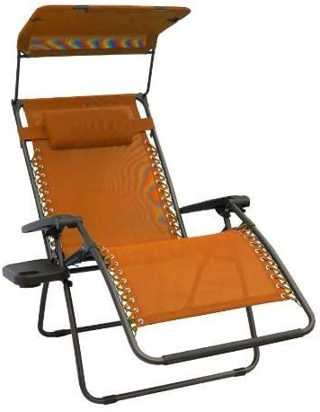 Bliss Hammocks Terracotta Zero Gravity X-Wide Recliner
