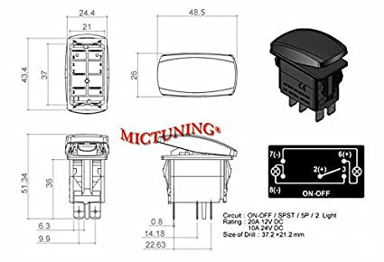 sasquatch light switch wiring diagram sasquatch mictuning 5pin laser led light bar rocker switch on off led light on sasquatch light switch