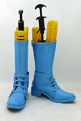Jojos Bizarre Avontuur 2 Caesar Cosplay Schoenen Blauwe Laarzen Op Maat Gemaakt