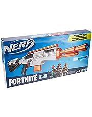 Nerf Fortnite IR-blaster gemotoriseerd - Fortnite-blaster met darts - Afneembaar magazijn voor 6 darts, 12 officiële Nerf Elite-darts