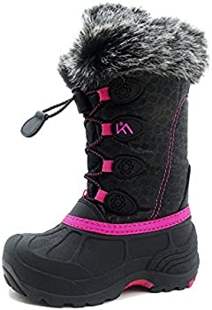 Iceface Waterproof and Insulated Kids Winter Snow Boots