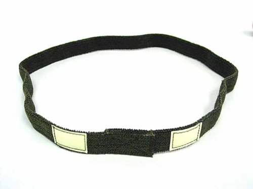 Airsoft US Army Helmet Reflective Cat-Eyes Band OD PASGT -