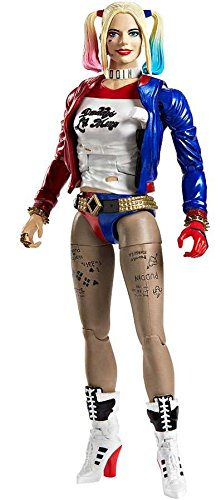DC Multiverse, Suicide Squad, Harley Quinn Exclusive Action Figure, 6 Inches