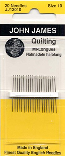 - Colonial Needle Quilting/Betweens Hand Needles-Size 10 20/Pkg