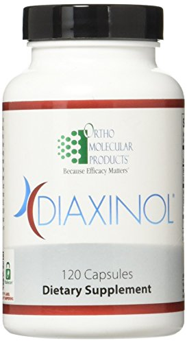 Ortho Molecular Products Diaxinol Capsules, 120 Count