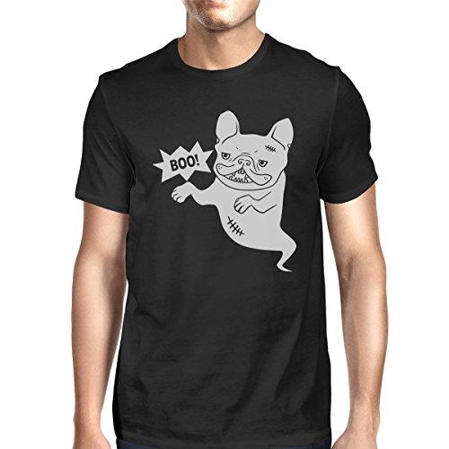 Boo 365 da Bulldog corta Ghost manica T uomo Stampa shirt monoblocco a French Black UwWPHrUFzq