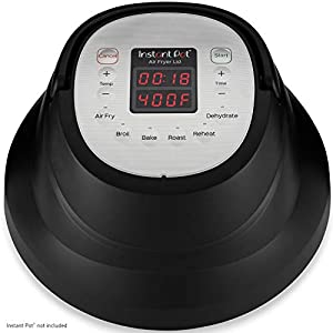 Instant Pot Air Fryer Lid 6 in 1, No Pressure Cooking Functionality, 6 Qt, 1500 W 8