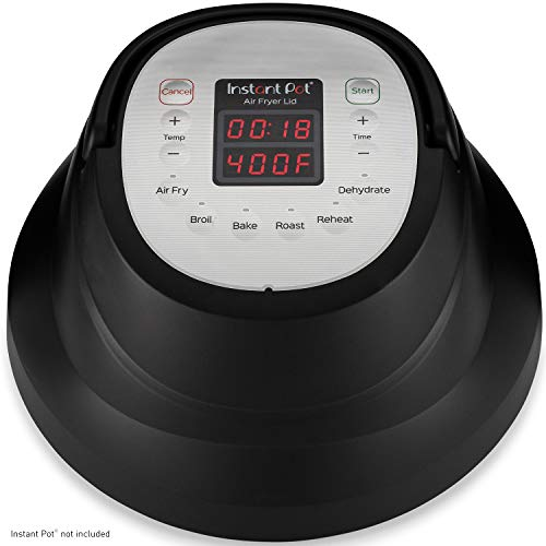 Instant Pot Air Fryer Lid with Roast, Bake, Broil, Reheat & Dehydrate