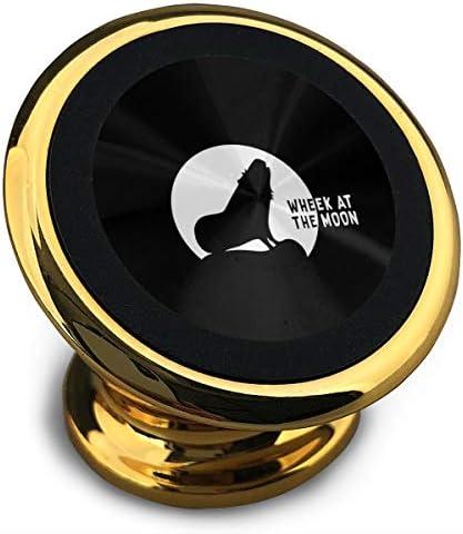 ウィークアットザムーン 携帯電話ホルダー おしゃれ 車載ホルダー 人気 磁気ホルダー 大きな吸引力 サポートフレーム 落下防止 360度回転