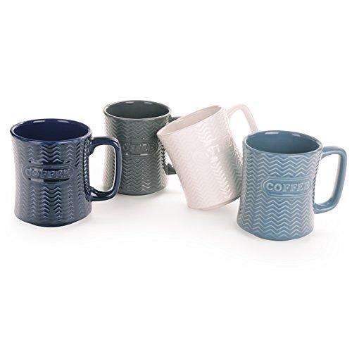 18 oz coffee mug set - 5