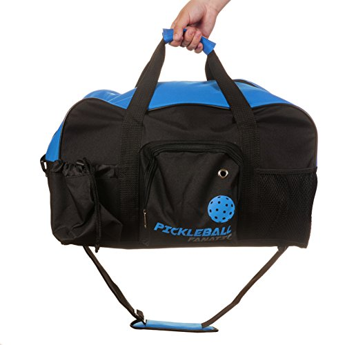 Pickleball Fanatic Duffel Bag (Blue/Black)