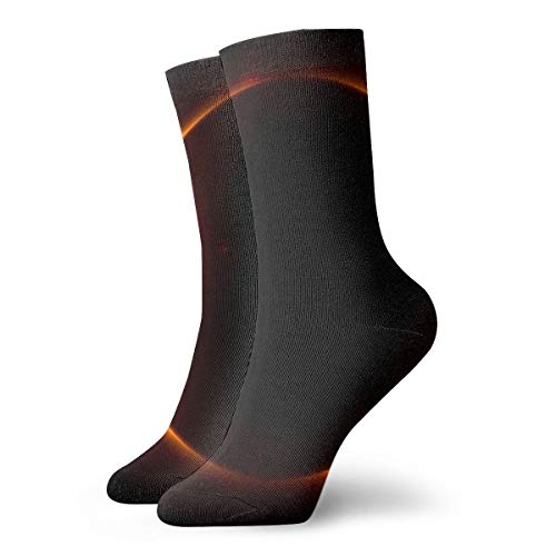 YUANSHAN Socks Solar Eclipse Women & Men Socks Soccer Sock Sport Tube Stockings Length 11.8Inch]()