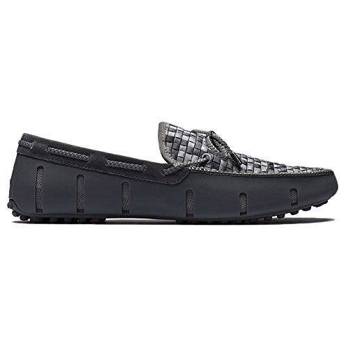 Swims Mens Lace Lux Woven Loafer Gray Fade Size 9.5 by SWIMS