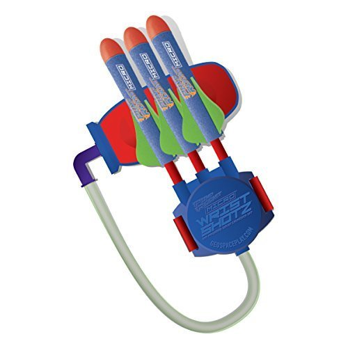 Geospace Micro Rocket Wrist Shotz: Wristband Launcher with Foam Rockets