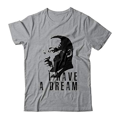 Martin Luther King Jr Equality Day Civil Rights Leader I Have A Dream Quote Gildan - Short Sleeve T-Shirt Sport Grey M