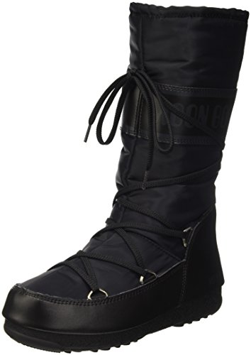 Boot Schwarz Sportschuhe Moon Soft W e Shade Outdoor Damen Anthrazit SFxdqwH