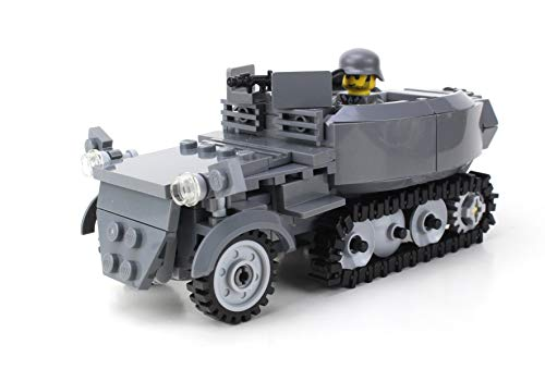 Battle Brick Deluxe German Half Track Sd.Kfz. 250 WW2 Custom Set