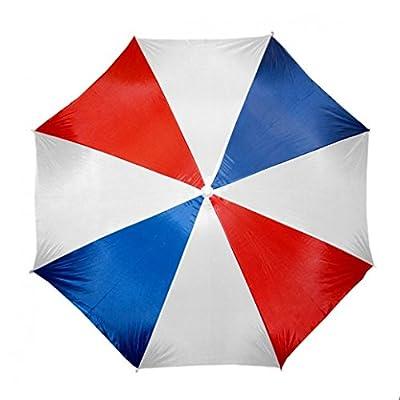 "Beach Umbrella 72"" Wide & 72"" High (Red/Blue/white) : Sports & Outdoors"