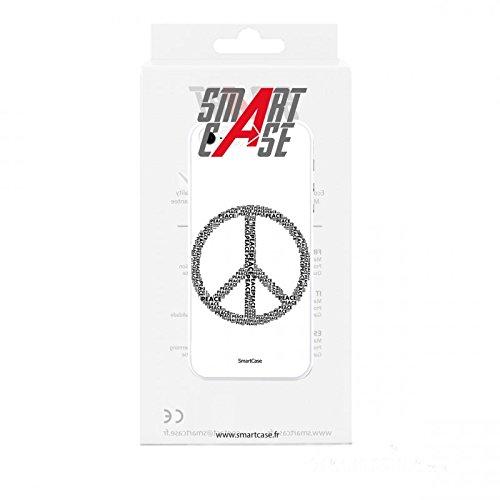 Coque + Verre Trempé pour iPhone 5/5S/SE SmartCase® PEACE & LOVE