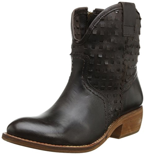 Taos Women's Holey Cow Western Boot,Chocolate,36 EU/5-5.5 M (Cow Western Boots)