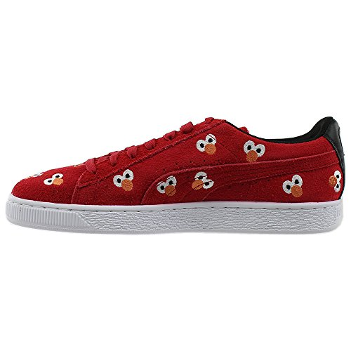 PUMA Select Men's x SESAME STREET Suede Sneakers, High Risk Red, 8 D(M) US