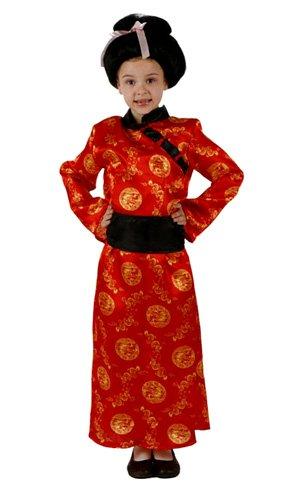 Desconocido Disfraz de china para niña: Amazon.es: Juguetes ...