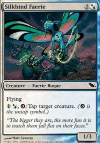 Gathering Shadowmoor Single Card - Magic: the Gathering - Silkbind Faerie - Shadowmoor
