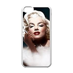 CSKFUCustomized Cover Case with Hard Shell Protection for iphone 6 5.5 plus iphone 6 5.5 plus case with Marilyn Monroe Quote lxa#315283