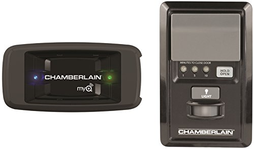 Chamberlain CIGCWC Smartphone Connectivity Kit for Chamberlain Garage Door Openers, Includes Internet Gateway and MyQ Multi-Function Wall Control ()