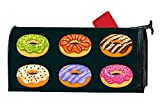 XW-FGF Chocolate Chip Donuts Magnetic mailbox cover Garden Magnetic