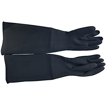Dragway Tools Rubber Sandblasting Gloves For Model 60 90