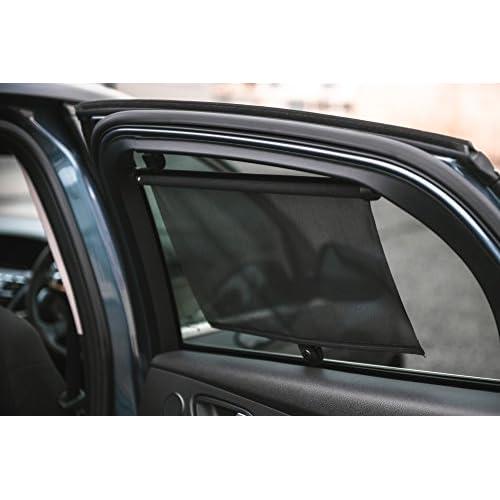 LIVIVO Lot de 2pare-soleil de voiture avec enrouleur 55cm good